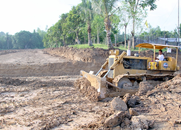 GPPPI Plant Site Development - 2011 September: Civil Works commence at Barangay Cabalabaguan, Mina, Iloilo, Philippines for the GPPPI 35 MW biomass power plant