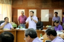 Meeting with Irrigation Association in Isabela